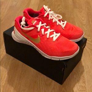 Nike Metcon 3 - NikeID - Red White Gold 7.5